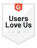 users love us g2 icon